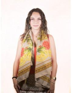Foulard de seda para mujer...