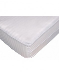Funda colchón blanca