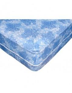 Funda colchón poliéster azul