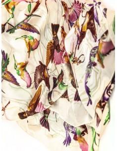 Pañuelo de seda para mujer...