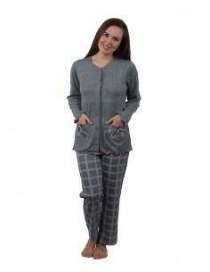 Pijama de mujer con lazos...
