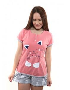 Pijama de verano para mujer...
