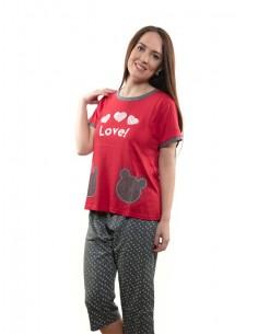 Pijama de mujer verano Love