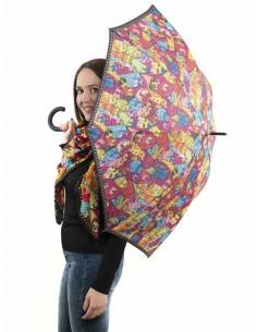 Paraguas largo de mujer de...