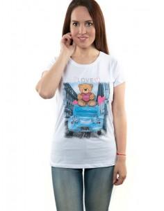 Camiseta de mujer algodón...