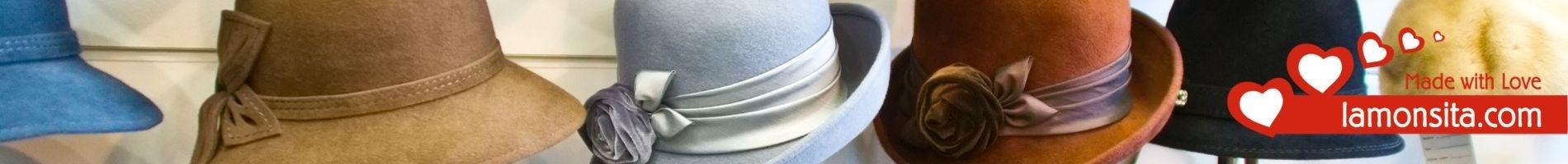 Sombreros de playa para mujer elaborados con rafia |Ropa de Verano