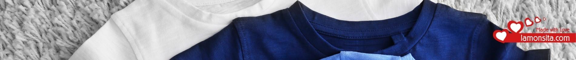 Camisetas de mujer de algodón natural 100%| lamonsita.com