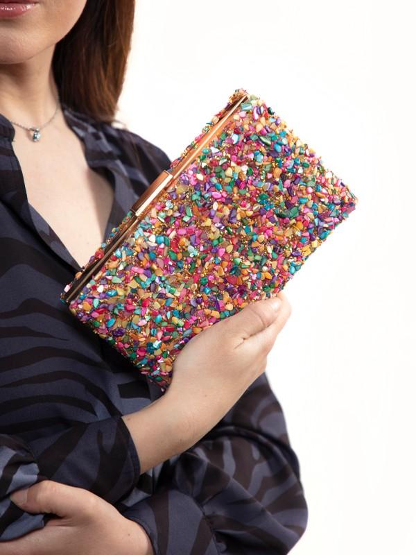 bolso de fiesta mujer colores